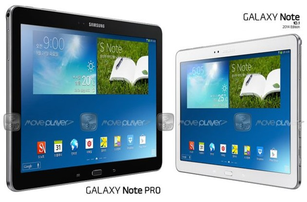 Samsung Galaxy Note Pro 12,2 inci Android 4.4 KikKat