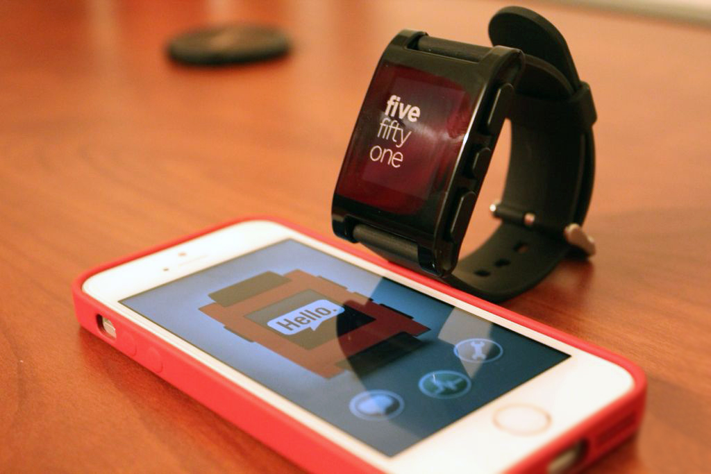 Smartwatch Pebble IOS update