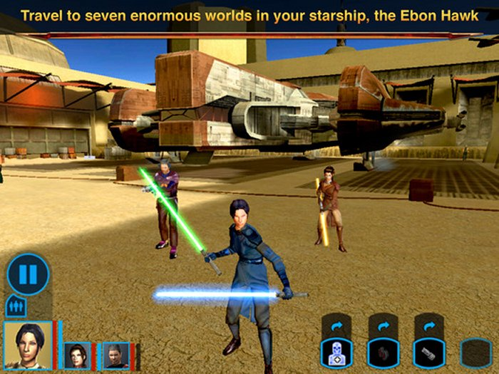 Star Wars: Knights of the Old Republic va deveni o aplicație universală pentru iOS