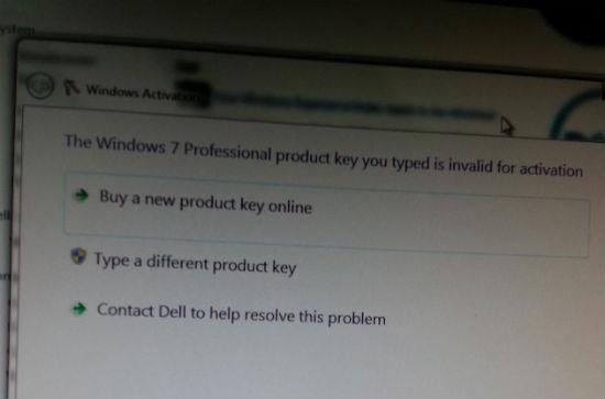Windows 7 piratat a fost descoperit într-o bază militară