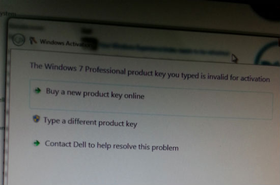 Windows 7 Piratat