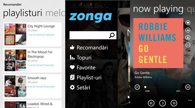 Zonga Microsoft Windows Phone 8 WP8