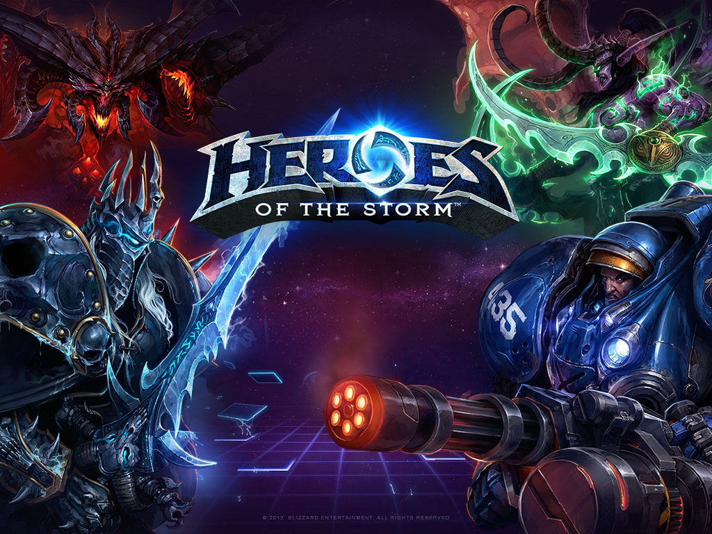 joc video MOBA Heroes of The Storm
