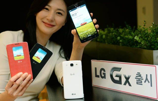 LG Gx – un nou phablet sud-coreean înainte de sărbători