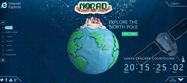 NORAD şi Microsoft îți spun unde se află Moș Crăciun în fiecare secundă [+VIDEO]