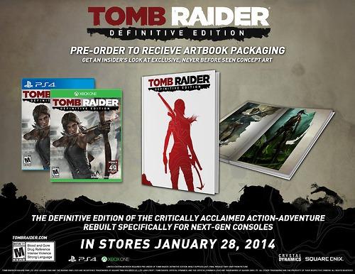 Tomb Raider Definitive Edition creşte colecţia de jocuri next-gen