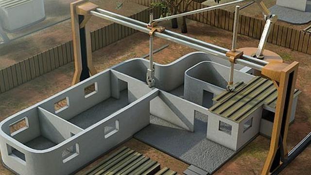 O imprimantă 3D imensă e perfectă pentru imprimat… case