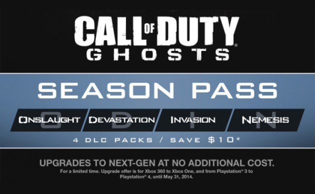 DLC Call Of Duty Ghosts