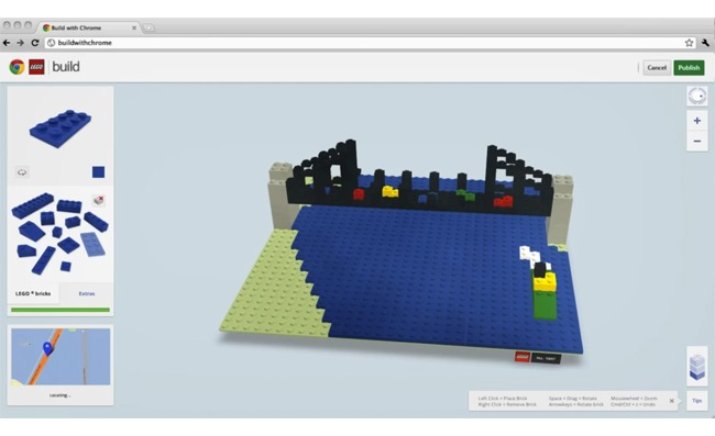 Google și LEGO au creat un experiment Chrome creativ [VIDEO]