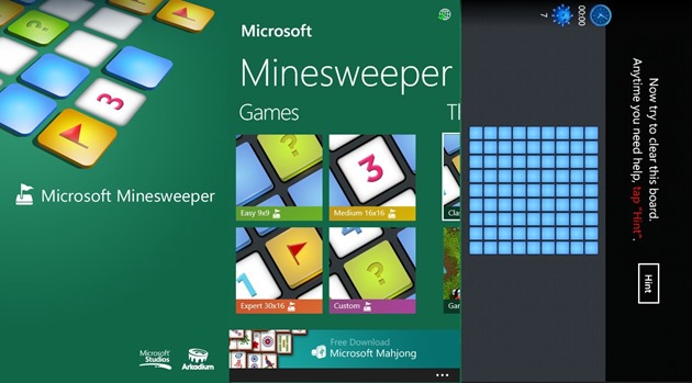 Microsoft Minesweeper Collection Windows Phone WP8