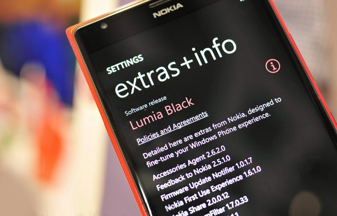Nokia Lumia Black Update Firmware