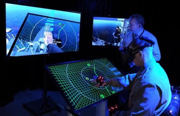 Oculus Rift Navy