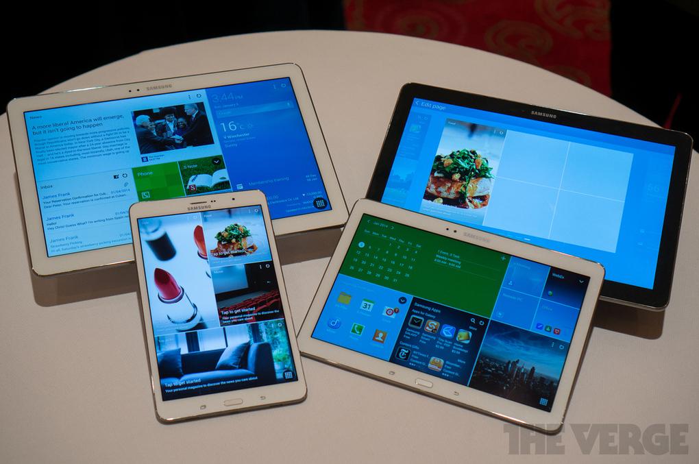 CES 2014 – Samsung Galaxy Tab Pro și Note Pro au diagonale de 12.2 inci
