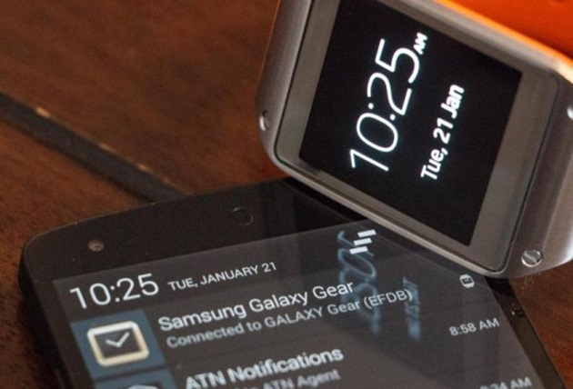 Samsung Galaxy Gear works with nexus 5