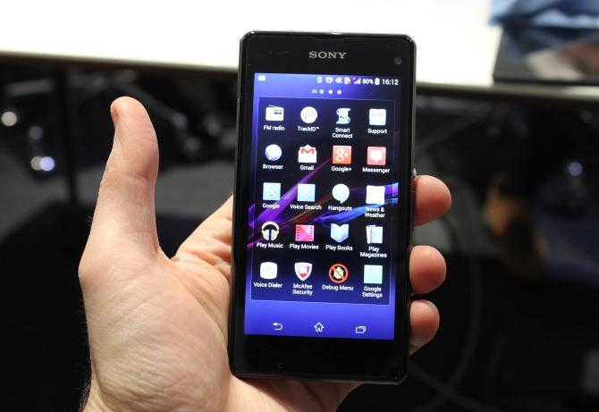 CES 2014: Sony Xperia Z1 Compact, un mic superphone