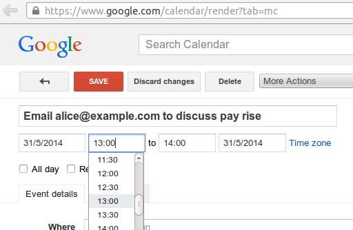 Google Calendar are o problemă ce ţine de intimitate
