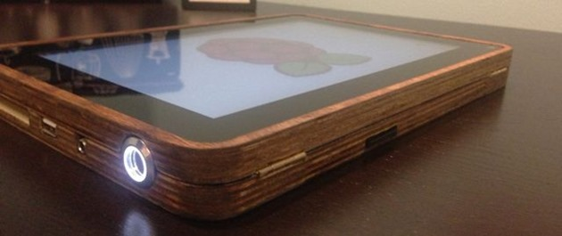 pipad raspberry pi homemade tablet