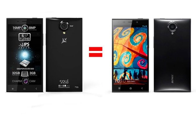 Allview x1 xtreme smartphone high end gionee elife e7