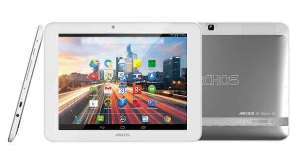 Archos face anunţuri pre-MWC: o tabletă Helium şi un smartphone Oxygen