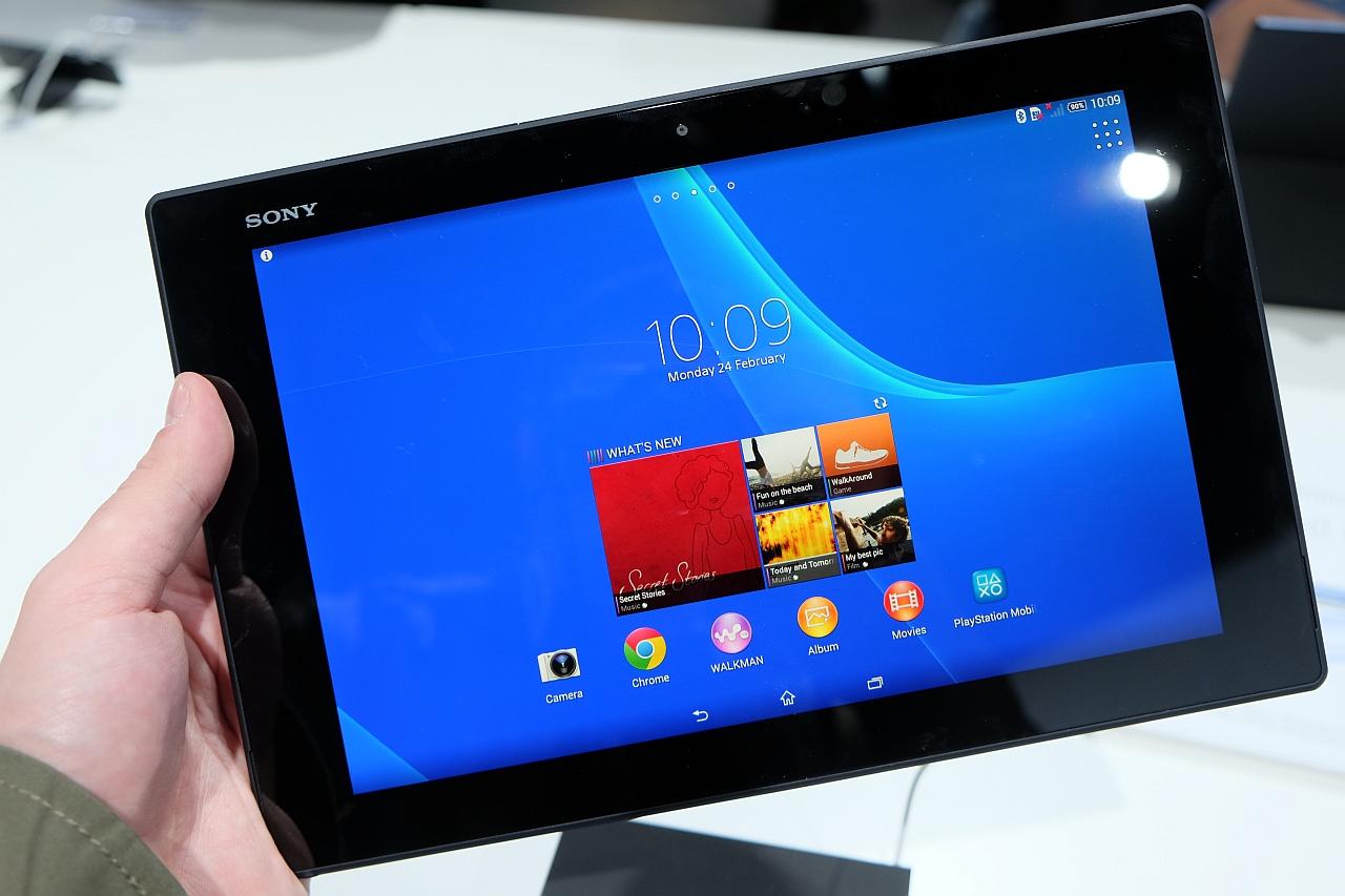 Sony Xperia Tablet Z2, mai ușoară și mai performantă