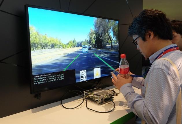nVidia sistemul de asistență pentru automobile