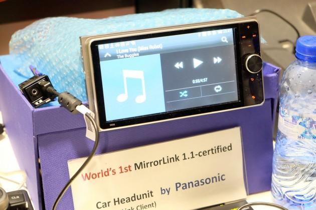 Car Headunit Panasonic MirrorLink