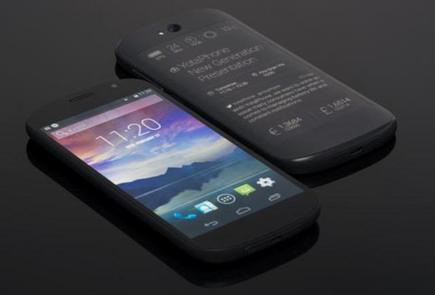YotaPhone generatia a doua lcd oled eInk