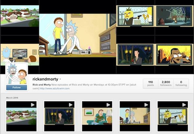 Un episod dintr-un serial, în clipuri de 15 secunde: Adult Swim pe Instagram