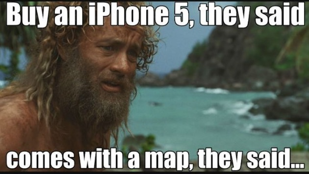 Apple iPhone iOS Maps Dead End