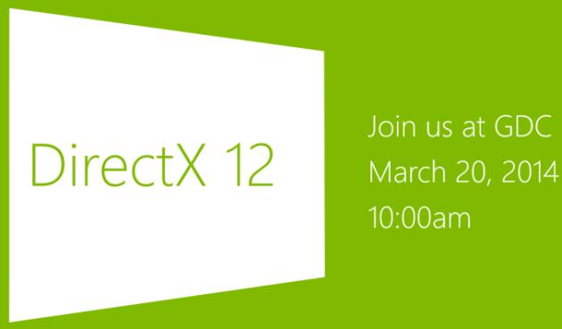 DirectX 12 GDC 2014
