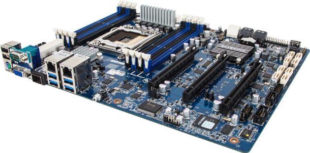 GIGABYTE GA-6PXSVT – prima placă de bază cu un controller LAN de 10 Gigabiți a producătorului