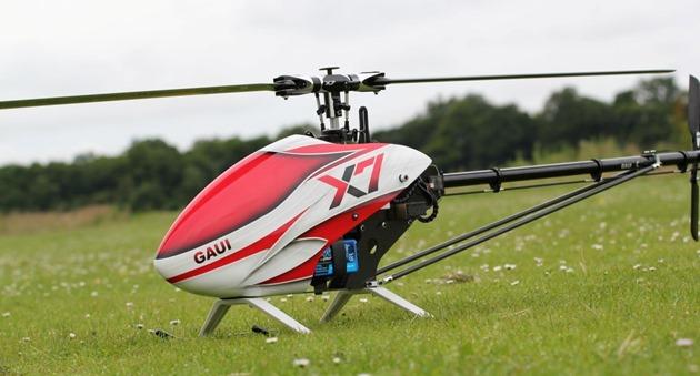Gaui X7 drone experiment oameni