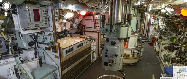 Google Street View UK Submarine