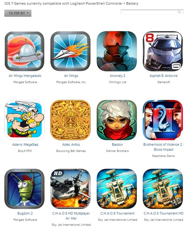 Logitech PowerShell Controller iOS 7 iPhone 3