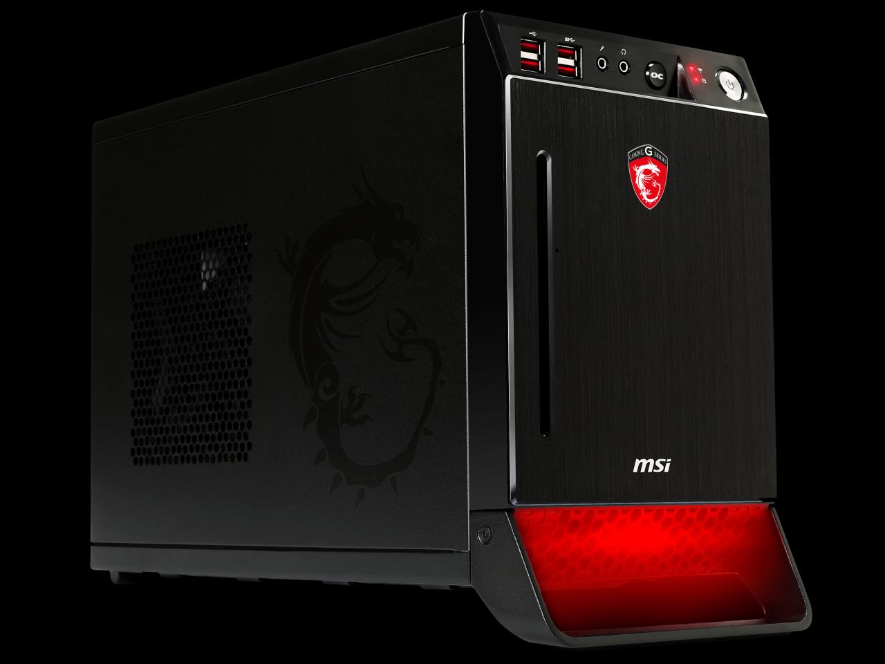 MSI introduce noile barebone-uri de gaming, Nightblade