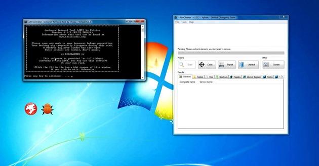 Malware adware spyware combofix adwcleaner
