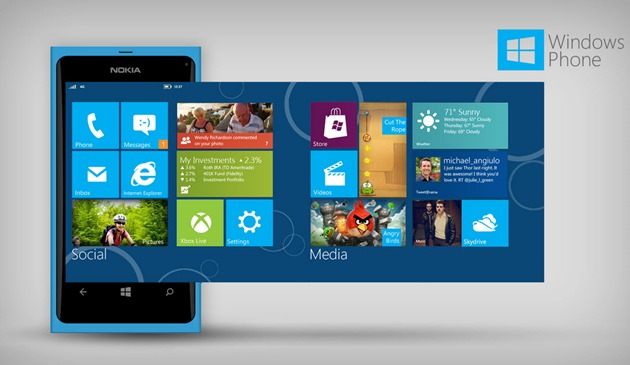 Nokia Windows Phone reclame