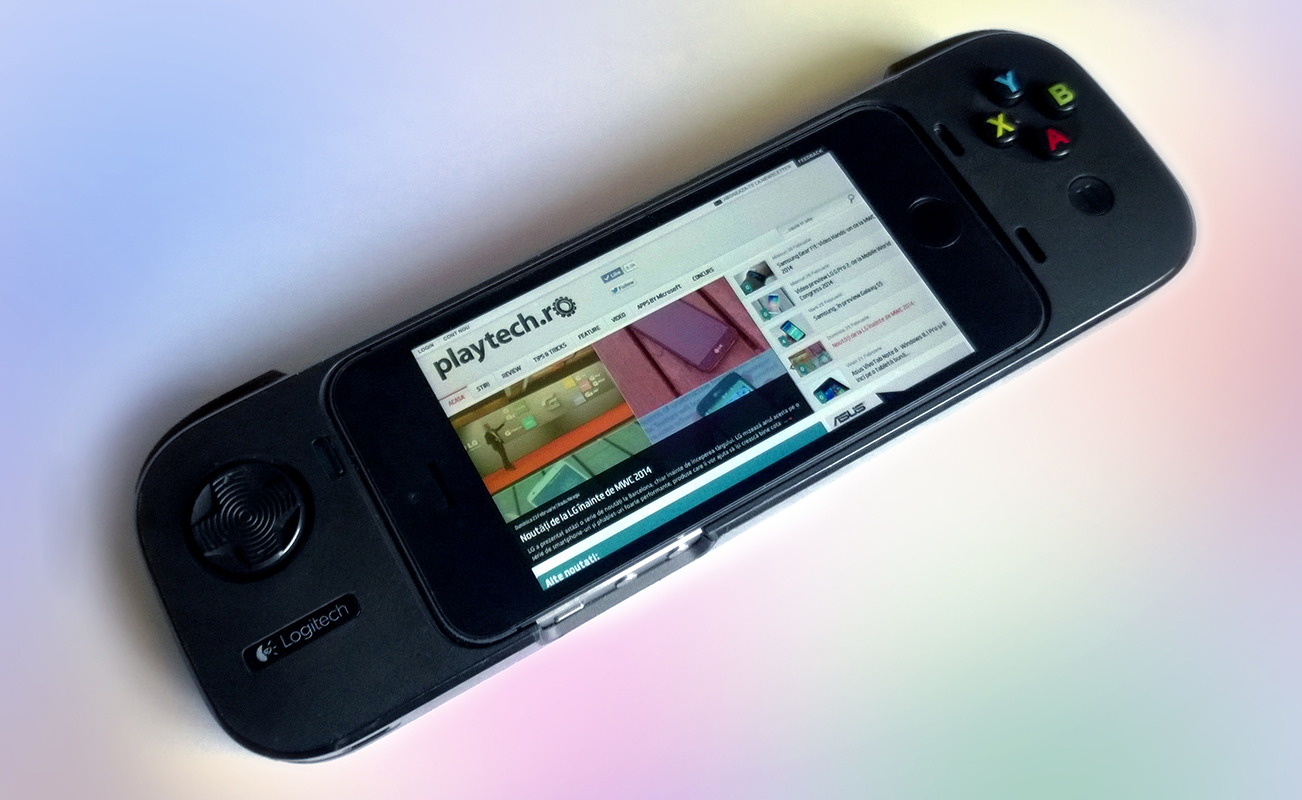 REVIEW Logitech PowerShell Controller iOS 7 iPhone Apple