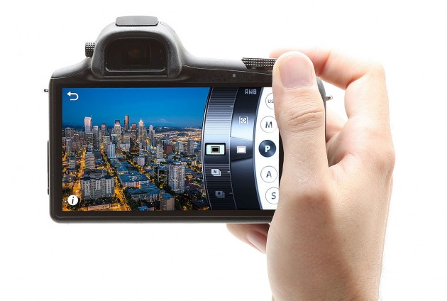 Samsung Galaxy NX Review Camera