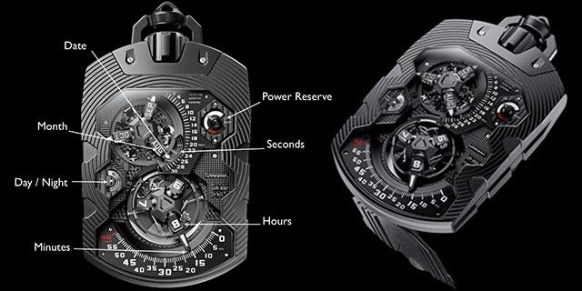 Urwerk Zeit Device 1001 – Cum funcţionează un ceas de 400.000 dolari? [VIDEO]