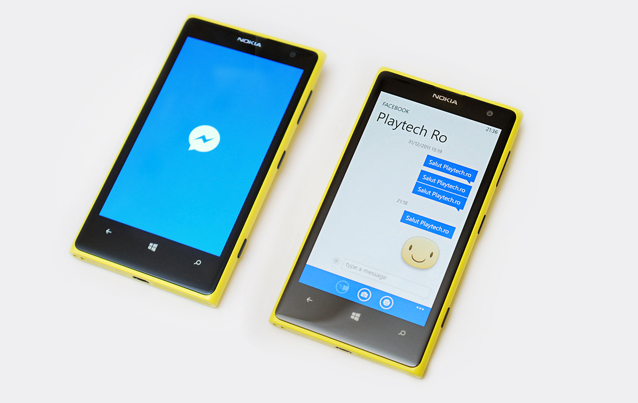 Facebook Messenger a sosit oficial pe Windows Phone