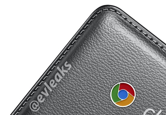 evleaks samsung chromebook-faux-leather