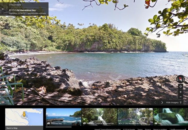 hawaii-google street-view