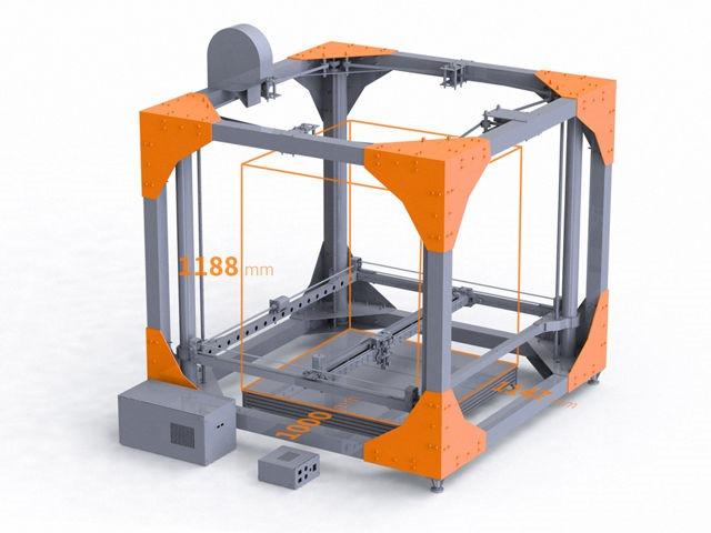 BigRep 3D Printer – imprimantă 3D pentru mobilă şi alte corpuri gigant