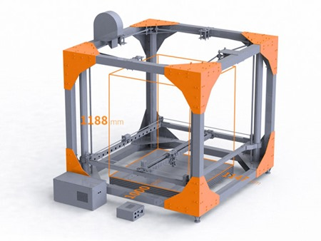 imprimanta 3d big-rep 3d printer