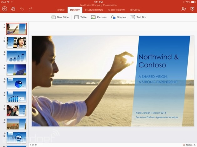 microsoft office-for-ipad excel word powerpoint ios
