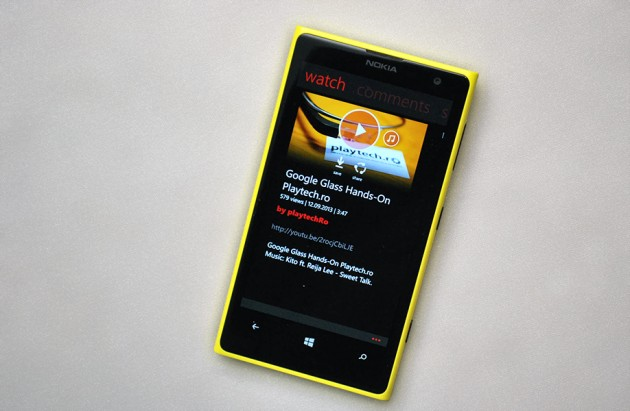 myTube Windows Phone 8 YouTube