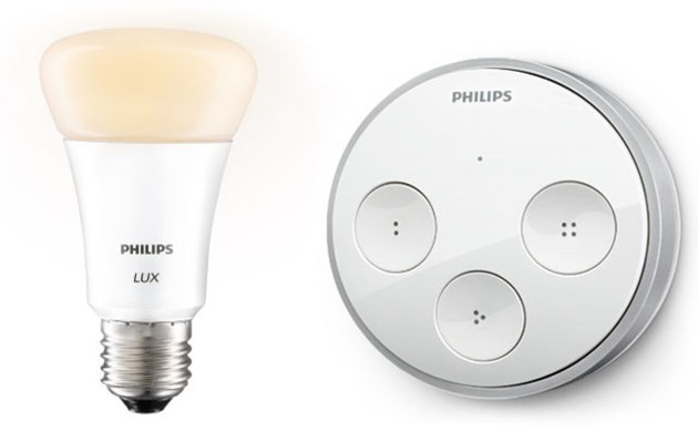 philips hue tap switch energie chinetica