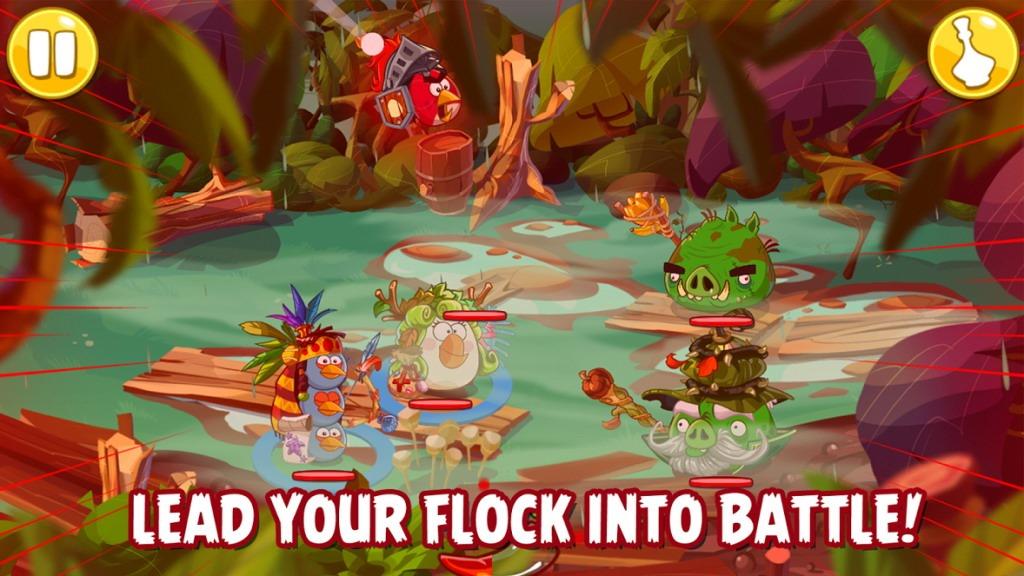 S-a lansat noul joc turn based strategy Angry Birds Epic [VIDEO]