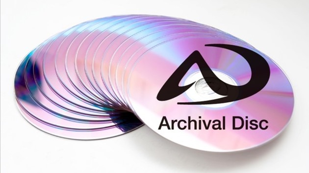 sony panasonic archival-disc